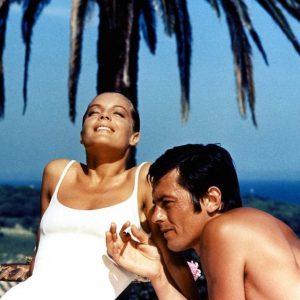 Alain Delon et Romy Schneider - La Piscine