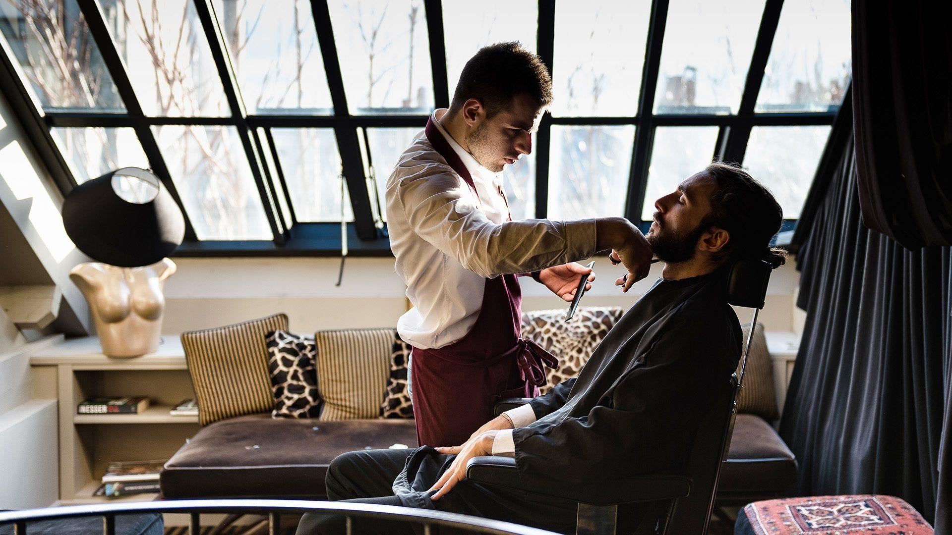 Coiffeur pour Hommes - Barbier