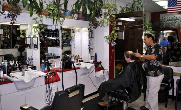 Salon de coiffure à Anchorage